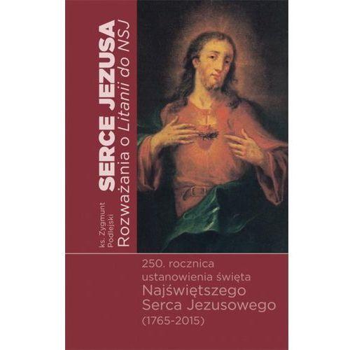 Serce Jezusa Rozważania o Litanii do Najświętszego Serca Jezusowego, oprawa miękka