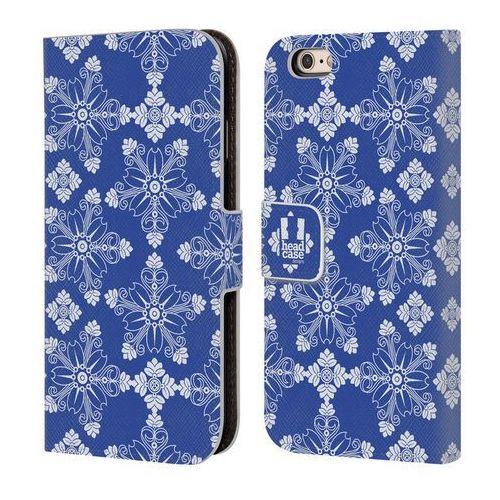 Etui portfel na telefon - Dazzling Blue Pattern CHERRY BLOSSOM