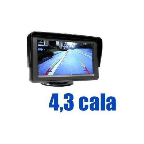 Samochodowy Mały Monitor LCD 4,3