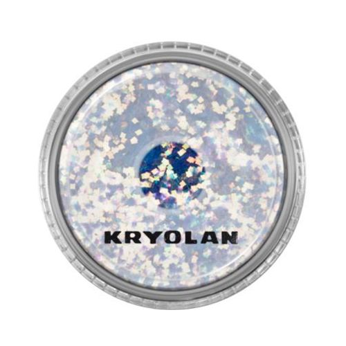 Kryolan polyester glimmer coarse (pastel blue) gruby sypki brokat - pastel blue (2901)