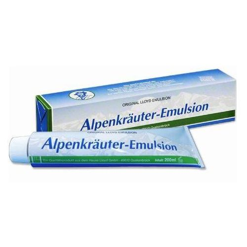 Emulsja ziołowa alpenkrauter emulsion 200ml marki Lloyd, niemcy