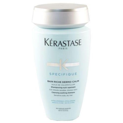 Kerastase dermo calm riche kąpiel do włosów kojąca wzbogacona wrażliwa skóra suche włosy 250 ml (3474636397396)