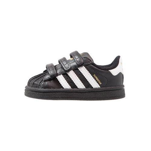 adidas Originals SUPERSTAR CF Obuwie do nauki chodzenia core black/footwear white, A-BZ0419-2200