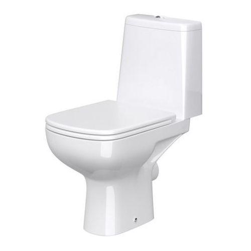 Cersanit Kompakt wc seno rimless z deską wolnoopadającą