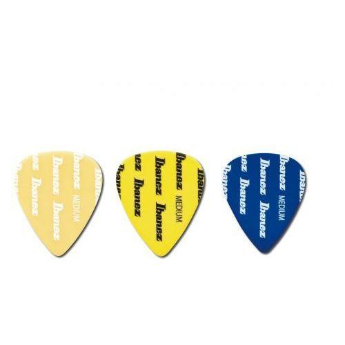 Ibanez bpa 14 mlg c zestaw kostek gitarowych grip wizard medium, 3 sztuki