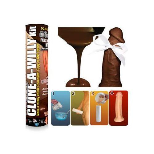 Clone-a-willy Czekoladowy odlew twojego penisa - chocolate clone a willy kit