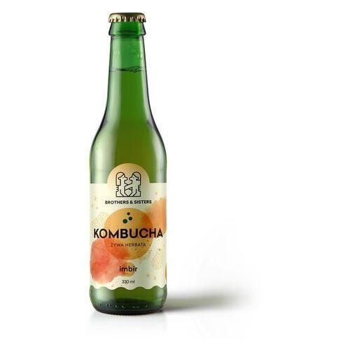 KOMBUCHA Imbirowa / Dieta sokowa / Detoks sokowy, 1 x 300 ml