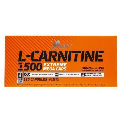Kapsułki OLIMP L-Carnitine 1500 Extreme Mega Caps 120 kaps.