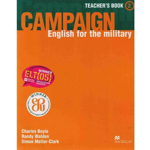 Campaign 2 Teacher's Book, Macmillan