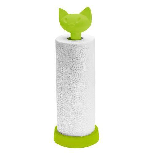 - stojak na ręcznik kuchenny miaou zielony marki Koziol
