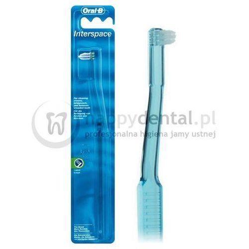 interspace - szczoteczka jednopęczkowa m.in. do czyszczenia aparatów ortodontycznych marki Oral-b