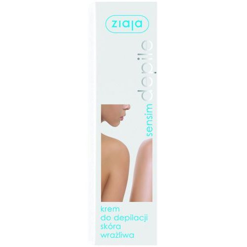 ZIAJA SENSIM DEPILE krem do depilacji skóra wrażliwa 100ml, ZIAJA LTD. Z.P.L. SP. Z 0.0.
