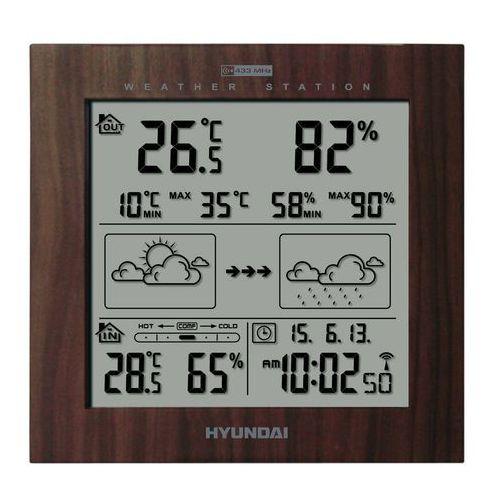 Stacja pogody HYUNDAI WS2244W Brązowy