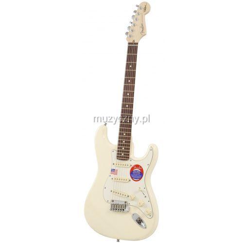 Fender jeff beck stratocaster rw olympic white gitara elektryczna