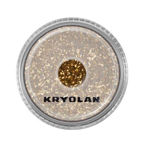 polyester glimmer medium (gold) średniej grubości sypki brokat - gold (2901) marki Kryolan