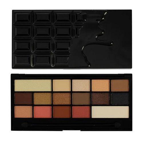 Makeup revolution i ♥ makeup chocolate vice paleta cieni do powiek z lusterkiem i aplikatorem 22 g (5029066053398)