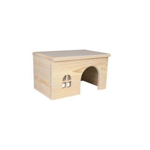 Domek dla gryzoni TRIXIE - naturalny kolor Rozmiar:15 × 12 × 15 cm od NaszeZoo.pl - Sklep dla Zwierzaka!
