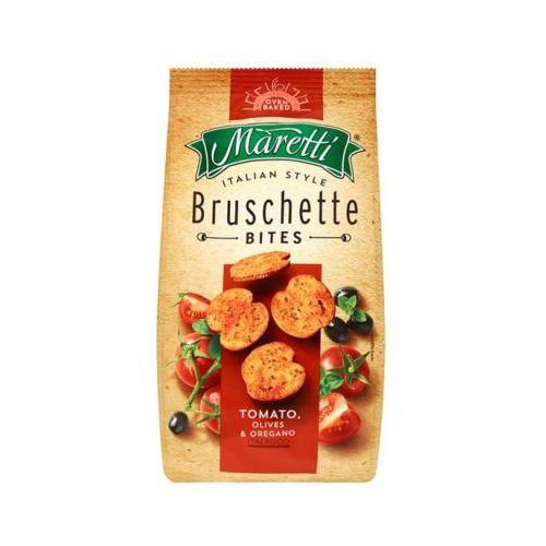Bruschette 70g chrupki chlebowe z pomidorem i oliwą marki Maretti