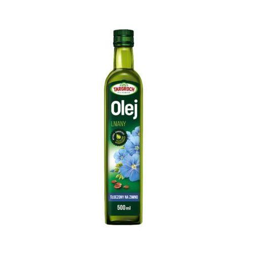 TARGROCH 500ml Olej lniany tłoczony na zimno