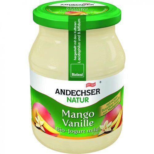 Jogurt mango wanilia 3,7% BIO 500 g Andechser Natur (4104060011030)