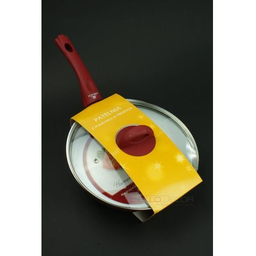 Harmony - patelnia ceramiczna średnica 28 cm + pokrywka GRATIS !, produkt marki Gerlach