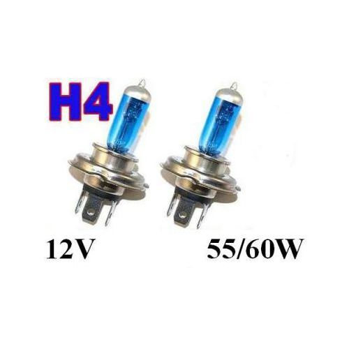 Żarówki (2szt.) Samochodowe H4 (12V) White Xenon H.I.D. (moc 60/55W) - Homologowane., 5907773414868