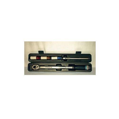 Klucz dynamometryczny ½'' z akcesoriami, Seneca z deltamoto
