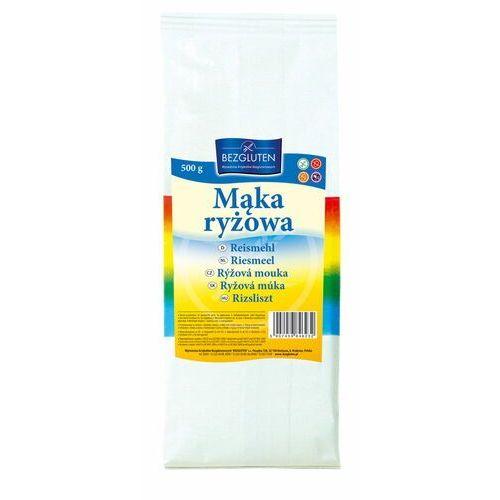 Bezgluten s.c. (produkty bezglutenowe) dystrybutor: mariusz koczwara, Mąka ryżowa 500g bezglutenowa bezgluten (5907459846232)