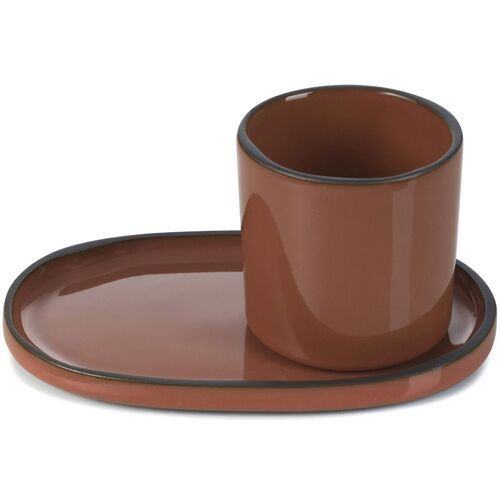 Filiżanka do espresso porcelanowa 80 ml caractere cynamonowa (rv-652690-4) marki Revol