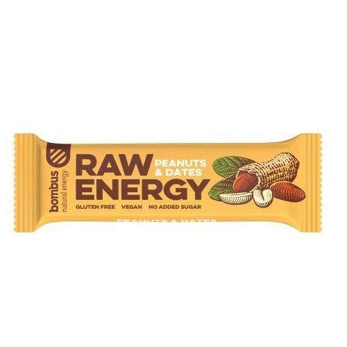 Baton raw energy orzech ziemny-daktyl bezgl. 50 g - marki Bombus