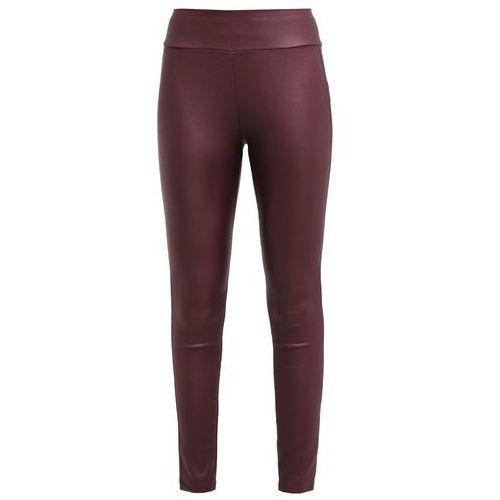 New Look Legginsy burgundy z kategorii legginsy