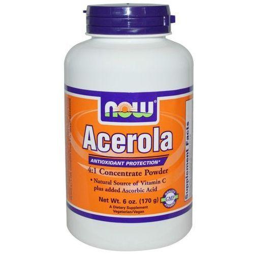 Acerola proszek 4:1 ekstrakt 170g NOW FOODS (7337390074070)