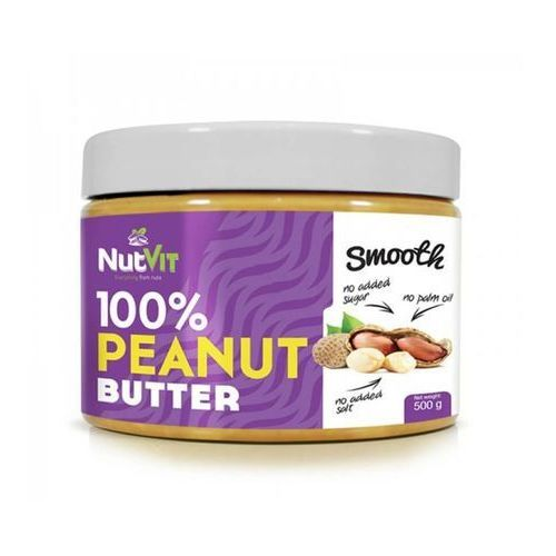 Ostrovit Nutvit 100% peanut butter 500g smooth (5902232610031)