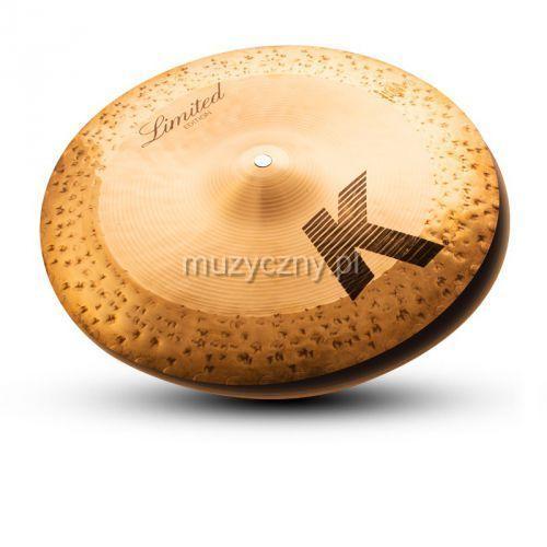 14″ k custom hybrid reversable hi-hat talerz perkusyjny marki Zildjian
