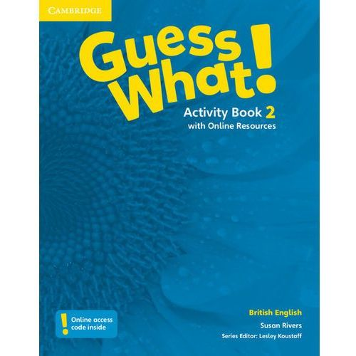 Guess What! 2 Activity Book with Online Resources - Wysyłka od 3,99, Cambridge University Press