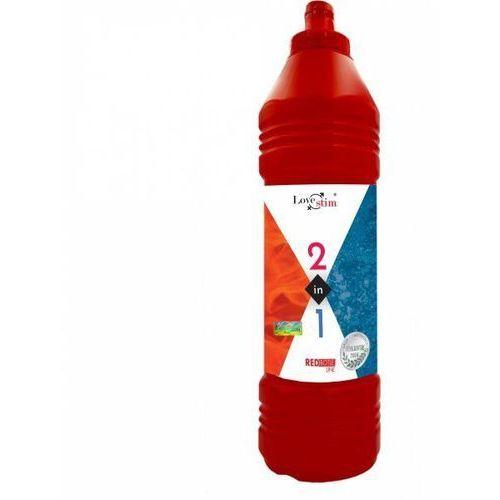 Żel do masażu i lubrykant w jednym 2in1 1000ml red bottle line marki Lovestim