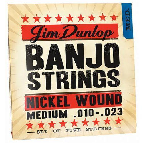 Dunlop banjo nickel strings medium 5 strings struny do banjo 10-23