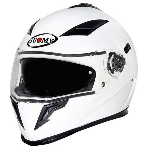 Kask halo white - integralny z blendą marki Suomy