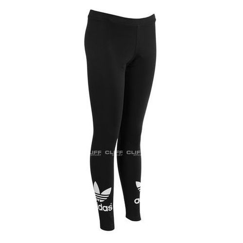Adidas SPODNIE ADIDAS TREFOIL LEGGINS, czarna, max rozmiar: 38