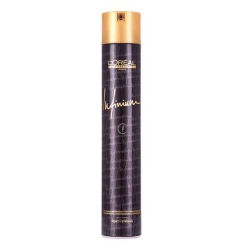 L'Oreal INFINIUM HAIRSPRAY STRONG Lakier do włosów Infinium Strong (500 ML)
