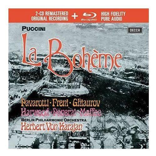 Universal music Puccini la boheme (2cd + 1 blu-ray audio) - luciano pavarotti (płyta cd)