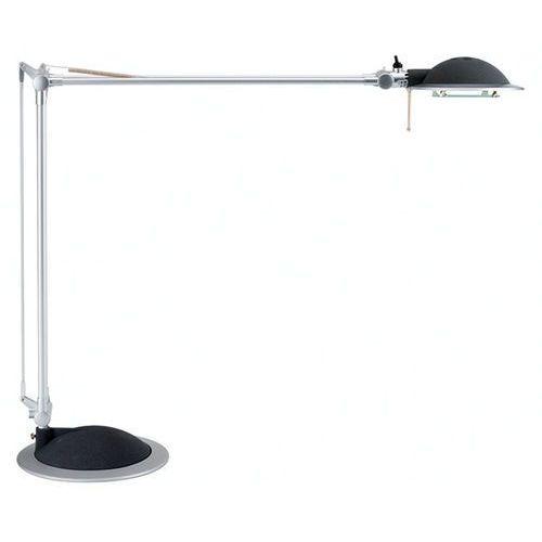 Lampka na biurko MAUL Business, 50W, halogenowa, srebrno-czarna - sprawdź w Mercateo Polska