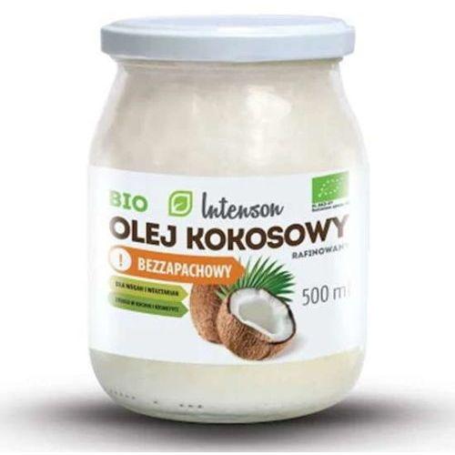 Intenson europe sp. z o.o. Bio olej kokosowy rafinowany 500ml