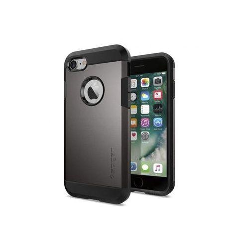 Apple iPhone 6 - etui na telefon Spigen Tough Armor - szary, kolor szary