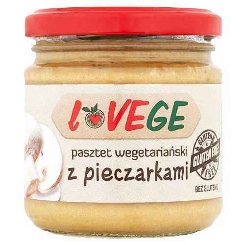 Pasztet wegetariański z pieczarkami Lovege 180g (5900617029119)