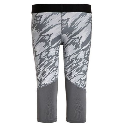 Nike Performance PRO DRY Legginsy pure platinum/cool grey/black/vivid pink