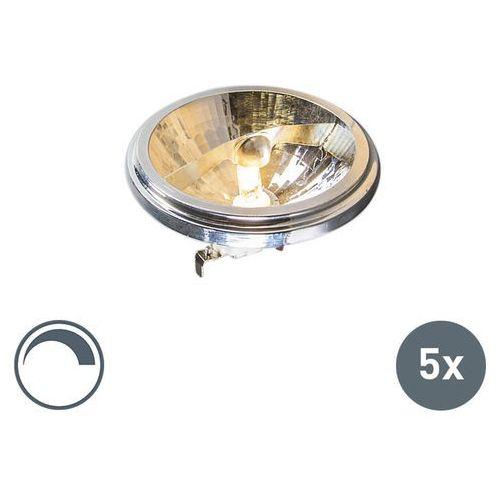 Zestaw 5 żarówek Osram G53 QR111 50W 12V 24 stopnie