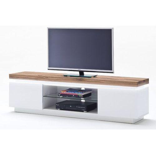 Romina stolik RTV szafka biały lakier matowy 48990MW