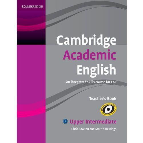 Cambridge Academic English Upper intermediate Teachers Book (162 str.)