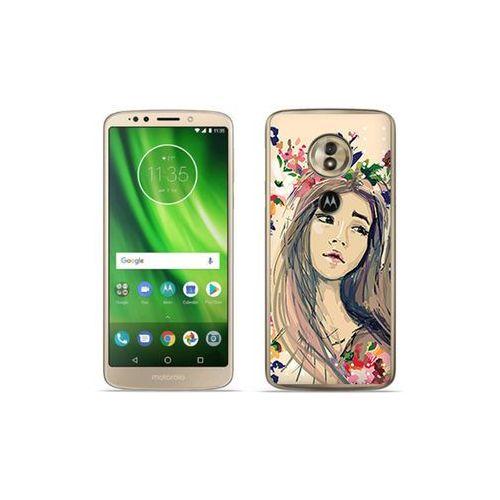 Motorola moto g6 play - etui na telefon fantastic case - kolorowy wianek marki Etuo fantastic case